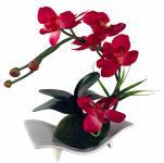 Kunstblume mit Schale, Deko, Seidenblume, Blumen, künstliche Blume, Kunstpflanze B1010