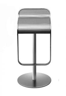 Lapalma Lem Barhocker (H: 66-79cm), matt verchromt (S80)