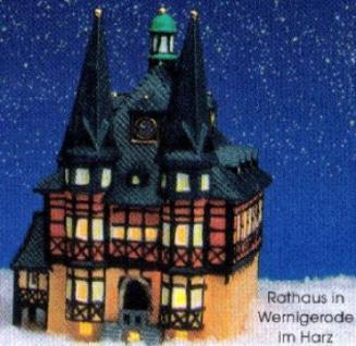 Lichthaus RATHAUS in WERNIGERODE im HARZ