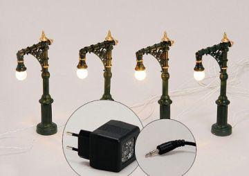 STRASSEN LATERNE 4er Lichterkette STRASSE für Licht - Vorschau