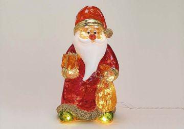 Beleuchteter LICHTER NiIKOLAUS Weihnachtsmann aus A