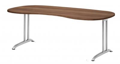 nierenschreibtisch 200 cm schreibtisch nierenform kaufen. Black Bedroom Furniture Sets. Home Design Ideas