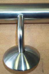 Handlauf - Edelstahl D 33 jede Länge lieferbar - Vorschau 4