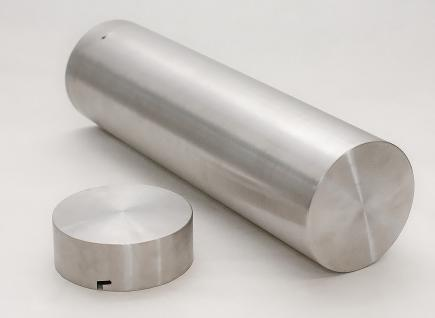Zeitkapsel Edelstahl 110 mm - optional mit Gravur