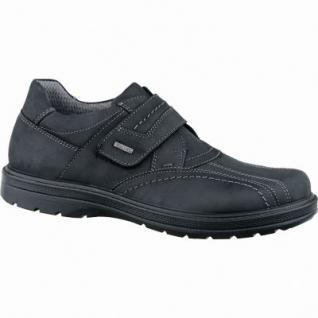 Jomos bequeme Herren Leder Sympatex Halbschuhe schwarz, Weite H, herausnehmbares Jomos Fußbett, 2237113