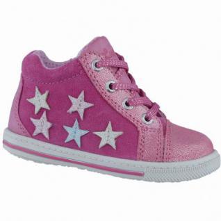 Lurchi Bibi Mädchen Leder Lauflern Schuhe pink, Lurchi Fußbett, mittlere Weite, 3038101