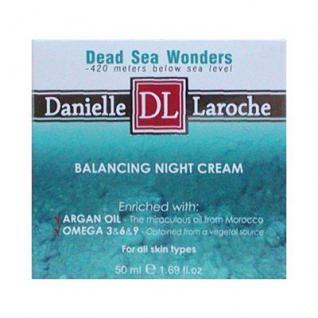 Danielle Laroche Dead Sea Wonders ausgleichende Nachtcreme mit Mineralien, Inca Inchi, Arganöl, 50 ml=458, 00 ¤/1 L
