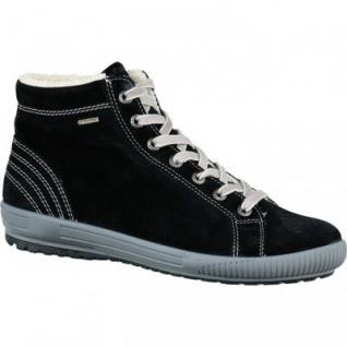 Legero Damen Velourleder Boots schwarz, Gore Tex, 1733136/5.0