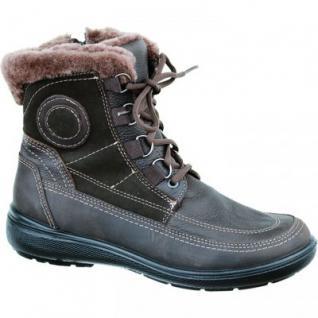 Jomos Damen Lammfell Leder Boots braun, Weite H, 1733104