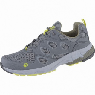 Jack Wolfskin Venture Fly Low M Herren Mesh Outdoor Schuhe green, atmungsaktives Polyesterfutter, 4438152