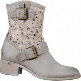 SPM Damen Leder Sommer Stiefel beige, 1634120