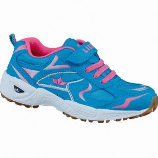 Lico Bob VS modische Mädchen Nylon Sportschuhe blau pink, Textilfutter, auswechselbare Textileinlegesohle, 4237112/28