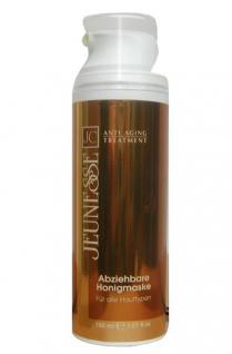 Jeunesse Honig Schönheitsmaske für alle Hauttypen, mit Honigextrakten, Vitamin E, Aloe Vera, 150 ml=163, 33 ¤/1 L