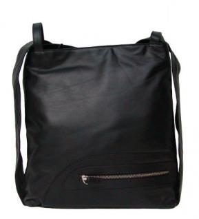 Eastline Moon 13 Damen Leder Rucksack und Tasche schwarz, 4 Fächer, key-holder