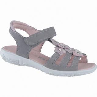 Ricosta Chica modische Mädchen Leder Sandalen graphit, Ricosta-Lederfußbett, mittlere Weite, 3538137