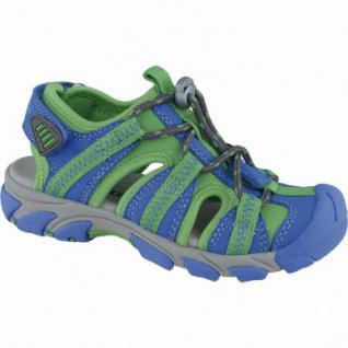 Superfit sportliche Jungen Synthetik Sandalen bluet, Superfit Leder Fußbett, mittlere Weite, 3538126