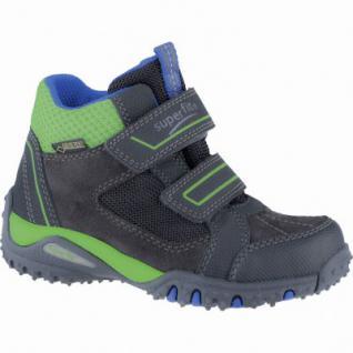 Superfit Jungen Synthetik Gore Tex Boots charcoal, Superfit Fußbett, 3739148/25