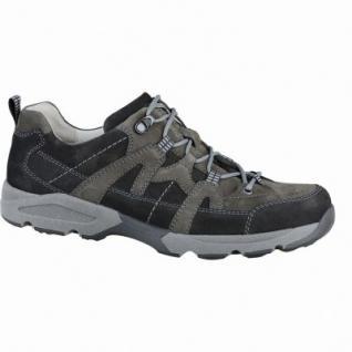Waldläufer Hulk 18 Herren Leder Trekking Schuhe schwarz schiefer, Weite H, Lederfutter, Leder Fußbett, 2237122