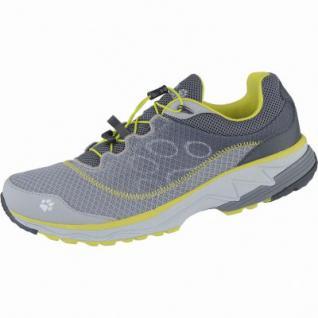 Jack Wolfskin Zenon Track Low M Herren Mesh Outdoor Schuhe alloy, atmungsaktives Polyesterfutter, 4438151/6.5