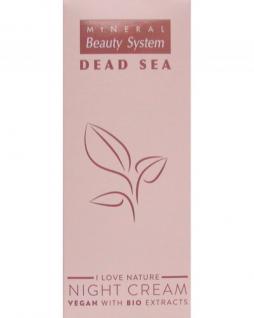 Vegan Nachtcreme Dead Sea Bio extraction, schützt vor Hautalterung, mit Gemüsen, Vitaminen, Mineralien, 50 ml=598, 00 ¤/1 L