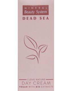 Vegan Tagescreme Dead Sea Bio extraction, gibt viel Feuchtigkeit, mit Gemüsen, Vitaminen, Mineralien, 50 ml=598, 00 ¤/1 L