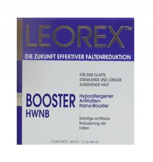 Leorex Booster Gesicht, Anti Aging für eine sofortige Straffung der Haut, 10 Packs, 33 gr=1672, 73 ¤/1 kg