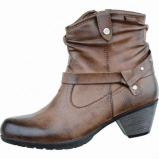 Dockers Damen Synthetik Winter Stiefel braun, Warmfutter, weiches Fußbett, 1633226