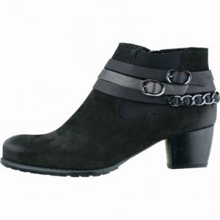 ARA Damen Leder Stiefeletten schwarz, Weite G, 1735103