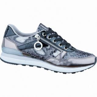 s.Oliver cooler Damen Synthetik Sneaker pewter light grey, weiche Decksohle mit Soft Foam, 1236187/37