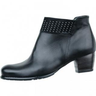 ARA Damen Leder Stiefeletten schwarz Comfort Weite G 1733113