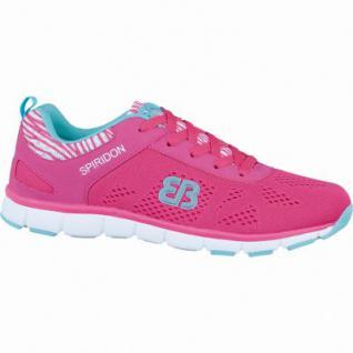 Brütting Cosmos Damen Nylon Fitness Schuhe pink/türkis, Textilfutter, auswechselbare Textileinlegesohle, 4236124