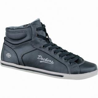 Dockers Damen Synthetik Winter Sneaker schwarz, Warmfutter, Fußbett, 1633223