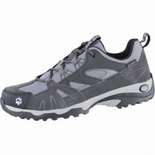 Jack Wolfskin VVOJO Hike Texapore Woman Damen Leder Trekking Schuhe light sky, atmungsaktives Polyesterfutter, 4439140
