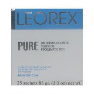 Leorex Pure unreine Haut für Gesicht und Körper, 25 Packs, 82, 5 ml=933, 33 ¤/1 kg