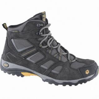 Jack Wolfskin Vojo Hike Mid Texapore Men Herren Leder Trekking Boots burly yellow, atmungsaktives Polyesterfutter, 4439143
