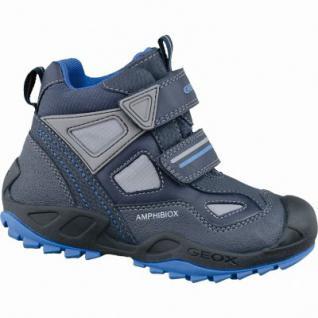 Geox J New Savage Jungen Winter Synthetik Amphibiox Boots navy, angerautes Futter, warmes Fußbett, 3737130