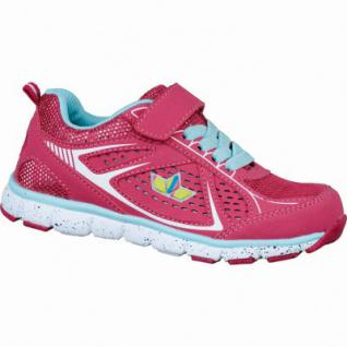Lico Rainbow VS, Mädchen Nylon Turnschuhe pink, Textilfutter, 4234145