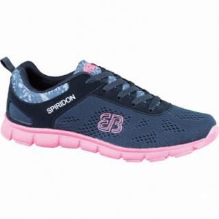 Brütting Cosmos Damen Nylon Fitness Schuhe schwarz/pink, Textilfutter, auswechselbare Textileinlegesohle, 4236125/42