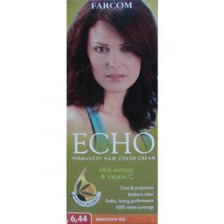 FARCOM Haarfarbe mit Olivenöl, Vitamin C, mit Handschuhen, Shampoo, Haarmaske, 2 Packungen Oxycream, 60 ml=81, 67 EUR/1 L