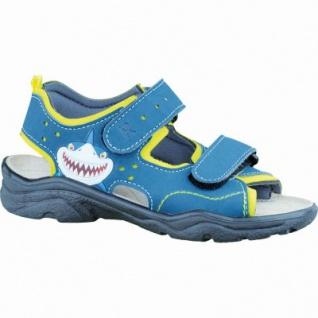 Ricosta Surf modische Jungen Synthetik Sandalen neongelb pavone, Ricosta Fußbett, mittlere Weite, 3536132