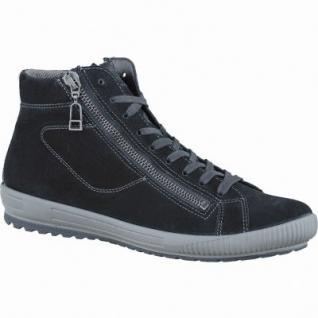 Legero trendige Damen Leder Boots schwarz, anatomisches Fußbett, Comfort Weite G, 1637357