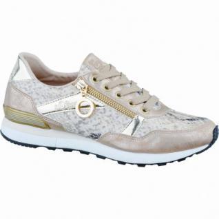 s.Oliver cooler Damen Synthetik Sneaker rose gold, weiche Decksohle mit Soft Foam, 1236188