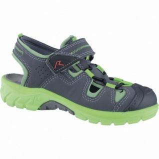 Ricosta Reyk modische Jungen Synthetik Sandalen antra, Ricosta Leder Fußbett, mittlere Weite, 3538133