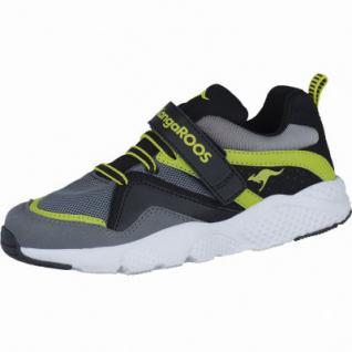 Kangaroos K-Puncher Jungen Synthetik Sneakers grey, Kangaroos Fußbett, 4238107