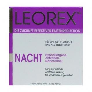 Leorex Night Anti Aging, für optimale Feuchtigkeit, strafft, 30 Packs, 99 gr=1472, 73 ¤/1 kg