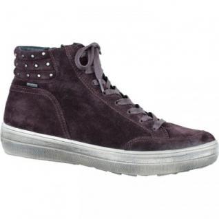 Legero Damen Velourleder Sneaker prugna, Gore Tex, 1733132/5.0