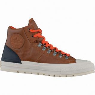 Converse Herren Chucks CTAS Street Hiker Leather, Herren Leder Chucks braun, 4235121