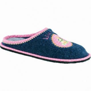 Softwaves Damen Textil Hausschuhe blau, Pantoffeln, 1935119/38