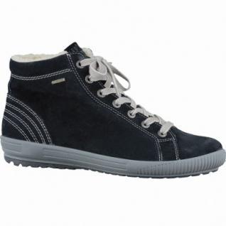 Legero trendige Damen Leder Winter Boots schwarz, Warmfutter, warmes Fußbett, Gore-Tex, Comfort Weite G, 1637353