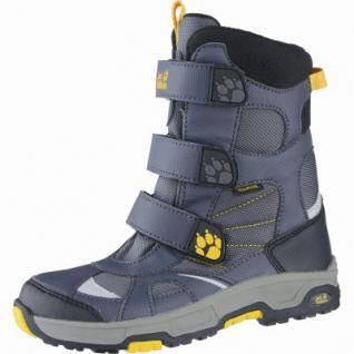 Jack Wolfskin Boys Snow Diver Texapore Jungen Mesh Snowboots burly yellow, molliges Warmutter, 4539119